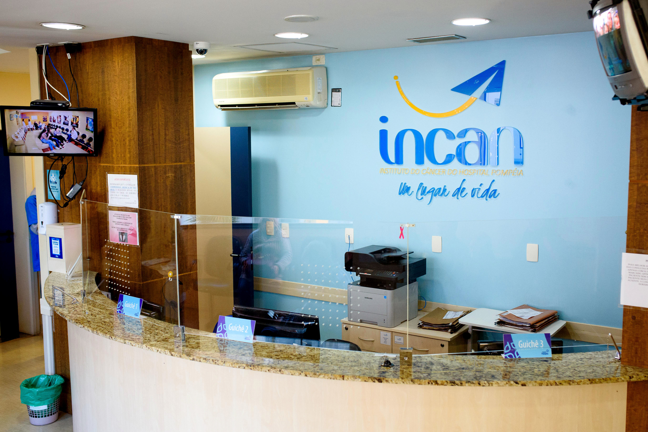 Recepção do Incan - Hospital Pompéia