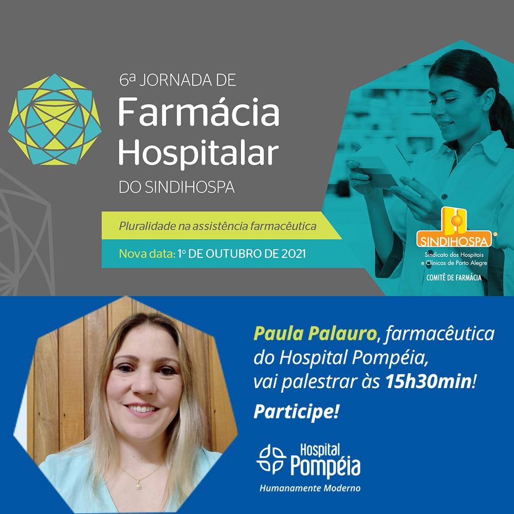 Participe da 6ª Jornada de Farmácia Hospitalar