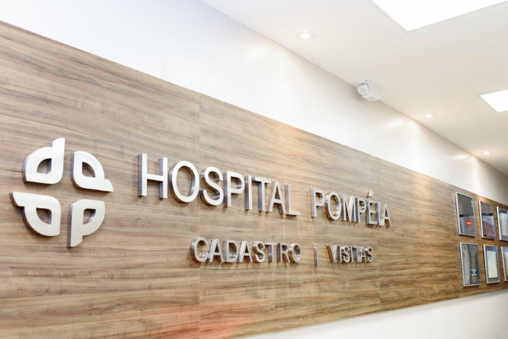Reforma da recepção lateral do Hospital Pompéia aumenta o conforto e segurança da instituição